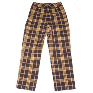Wilfred plaid trousers
